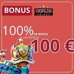 bonus promotions tropezia