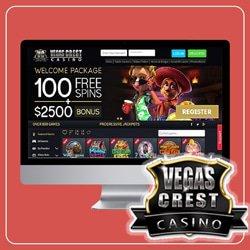 jouez sur vegas crest casino